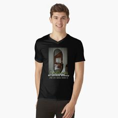 My T Shirt, V Neck T Shirt, Life S, Chiffon Tops, Classic T Shirts, Printed, Awesome, Mens Tops