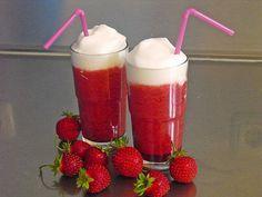 Erdbeer-Macciato im #Sommer #Rezept