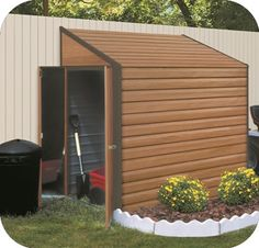 1000 images about lawnmower storage on pinterest for Lawn mower storage shed