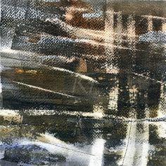 GRISAZUR: Acuarela y grafito sobre papel, 20x20 cm.Nov.21, 2...