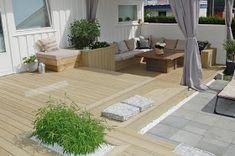Bilderesultat for terrasse Backyard, Patio, Windows And Doors, Garden Inspiration, Decoration, The Great Outdoors, Home And Living, Outdoor Gardens, Terrace