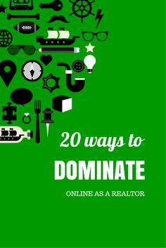 20 Ways Real Estate Agents Can Promote Themselves Online: Your Checklist For Market Domination