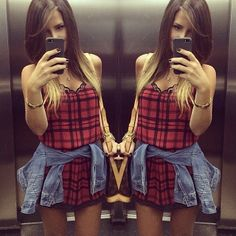 #ShareIG A IT STORE está sempre presente no day-by-day da @Isabella Nascimento ❤️❤️❤️ Vestido XADREZ 169,00 Mto amor!!!!! #news #trendy #style #fashion #itlook #look #love #itstore #itstoreonline www.itstoreonline.com.br