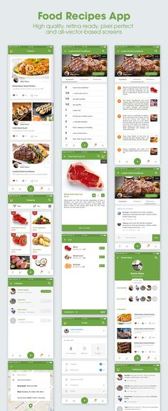 5Stars is a mobile UI KIT which includes 80+ super high quality, retina ready, pixel perfect and all-vector-based screens for Food & Beverage App Ecosystem and other Lifestyle Apps.  The screen layouts are included 3 types of apps: Food Discovery, Review, Coupon App + Food Delivery App + Food Recipes App.