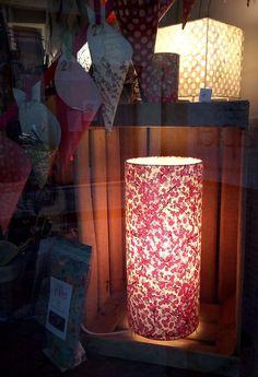 Papier japonais, lampe