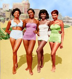 Retro Pretty Brown Girls