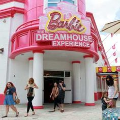 Amazing!! Life Size Barbie Dreamhouse opens in Florida. If only we lived in Florida!