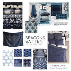 Spring 2016 Color Inspiration. #indigo #denim #chambray Batten, Spring 2016, Color Inspiration, Chambray, Indigo, Denim, Fashion, Moda, Fashion Styles