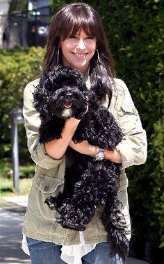 Jennifer Love Hewitt...Like this pin check out Barbra's board animal- Pets n Celebrities