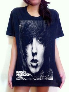 Bring Me the Horizon Oliver Sykes metalcore Rock Music band T-shirt Size.S by Rock Music Tee, http://www.amazon.com/dp/B00C861WCO/ref=cm_sw_r_pi_dp_0ymYrb0QPP1BE