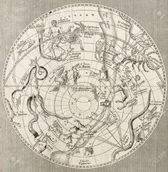 14986620-Antique-illustration-of-Celestial-Planisphere-southern-emisphere-with-constellations-Original-engrav-Stock-Photo.jpg (1268×1300)