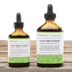 """Sensitive to airborne irritants like pollen, smoke, mold, dust, pollution, and vog? You need to check out Easy Breather. This formula is chock full of herbs that promote a normal response to seasonal allergens, including the juniper pollen that produces what's known as """"cedar fever"""" in the Southwest. Not only is Easy Breather effective for those sensitive to allergens, it's a powerful immune booster. Use year round to keep internal defenses in peak shape before cold and flu season strikes."""