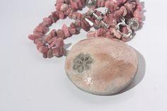 raku  necklace di RaRoearth su Etsy