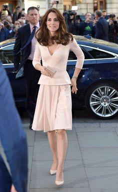 Princess Kate in pink suit