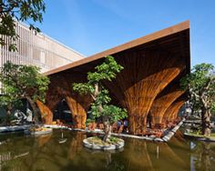 kontum indochine café by vo trong nghia architects