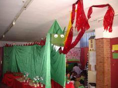 Els nostres moments a l'aula d'infantil: Sant Jordi