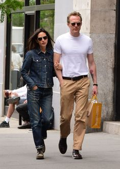 Paul Bettany and Jennifer Connelly Are Frontrunners for 2016's Best-Dressed Couple Title Photos | GQ