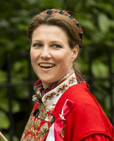 Princess Martha-Louise of Norway | The Royal Hats Blog-Princess Martha Louise Celebrates Norwegian National Day in London