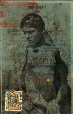by Nick Bantock ~ I love his collages!