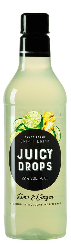 11,91€, JUICY DROPS LIME & GINGER