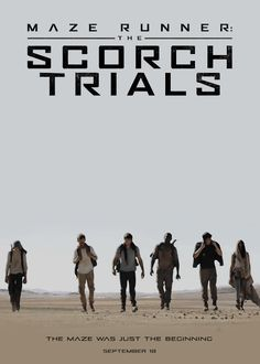 the scorch trials animated poster  gif