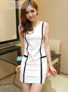 #Stunning #Sheath #Split Stunning Split Joint Sleeveless Dress