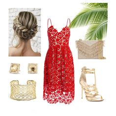 A fashion look from July 2017 featuring red dress, low heel sandals and cross-body handbag. Browse and shop related looks. Low Heel Sandals, Low Heels, Summer Dresses, Formal Dresses, Cross Body Handbags, Fashion Looks, Polyvore, Dresses For Formal, Summer Sundresses