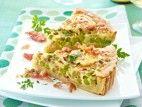 Quiche mit Erbsen, Speck und Schmelzkäse Rezept - Chefkoch-Rezepte auf LECKER.de | Kochen, Backen und schnelle Gerichte