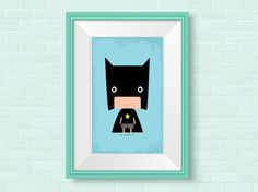 Nursery wall art for Superheroes. Superhero print ideal for the nursery or any little Superheores bedroom. Other Superhero nursery art is available in my store.  Most of my prints are now available for you to print at home in my other shop here: www.etsy.com/uk/shop/NordicDesignHouseCo  MY PRINTS  All of my prints are designed inhouse so if you require a different colour or alteration please just send me a convo and I will be more than happy to make any small change free of charge. Larger…