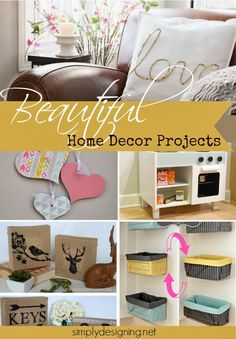 14 Beautiful Home Decor Projects | #diy #homedecor #decorating