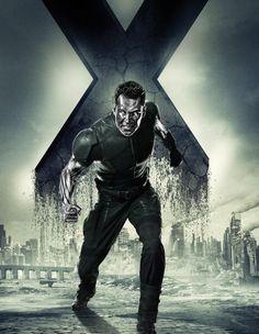 X-Men: Días del futuro pasado Colossus (Daniel Cudmore) Poderes: Grandes niveles de fuerza y puede hacer que su piel se transforme en acero indestructible.