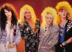 Poison...love those 80's hair bands