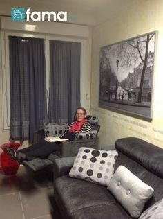Grand maman se repose sur le fameux Fama - 7 Photo Contest Fama, sofas to enjoy at home