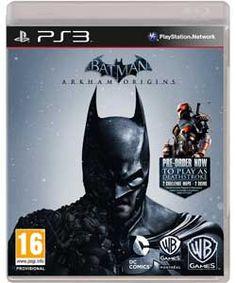 Batman Arkham Origins - PS3 Game.