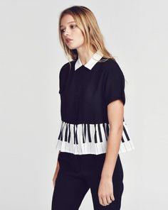 Lazy Oaf Piano Shirt