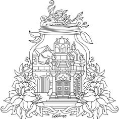 The sneak peek for the next Gift of The Day tomorrow. Do you like this one? #castle #jar ••••••••••• Don't forget to check it out tomorrow and show us your creative ideas, color with Color Therapy: http://www.apple.co/1Mgt7E5 ••••••••••• #happycoloring #giftoftheday #gotd #colortherapyapp #coloring #adultcoloringbook #adultcolouringbook #colorfy #colorfyapp #recolor #recolorapp #coloring #coloringmasterpiece #coloringbook #coloringforadults