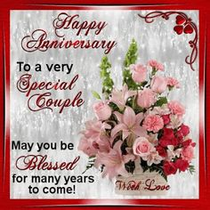 This ecard can be sent to any couple on their anniversary day. Free online On This Your Special Day ecards on Anniversary Happy Aniversary Wishes, Wedding Anniversary Message, Anniversary Wishes For Couple, Happy Wedding Anniversary Wishes, Anniversary Greetings, Anniversary Congratulations, Anniversary Funny, Anniversary Bands, Happy Birthday Images
