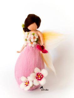 exclusive spring fairy Petruska waldorf felting needle