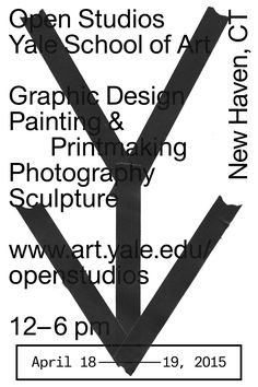 Yale Open Studios (2015)Designed by Martin Bek, Joshua Graver, Ben Fehrman-Lee, and Maziyar Pahlevan