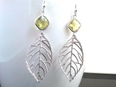 Autumn Leaves Chandelier Earrings
