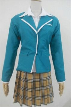 Vicwin-One Rosario Vampire Mizuki Nana Uniform Cosplay Costume *** Read more at the image link.