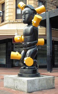 Brett Murray Contemporary African Art, African Sculptures, South African Artists, Africa Art, Public Art, Black Art, Sculpture Art, Painting & Drawing, Sculpting