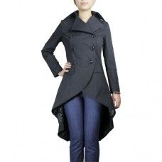 Clothing Brands at Bank Fashion,Winter Coats for Women - : . Clothing Brands at Bank Fashion,Winter Coats for Women - Winter Coats Women, Coats For Women, Clothes For Women, Gothic Mantel, Bank Fashion, Gothic Coat, Gothic Lolita, Winter Stil, Steampunk Clothing