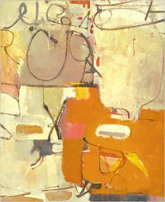 """Richard Diebenkorn in New Mexico - """"Untitled (Albuquerque)"""" 1951"""