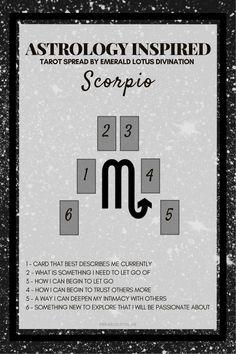 Tarot spread for Scorpio #venusskylace