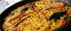 Food is very much an integral part of life in not just Barcelona but Spain as a whole. Paella Recipe, Spanish Culture, Tasty, Yummy Food, Spanish Food, Catering, Food And Drink, Menu, Restaurant