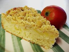 Apfel - Buttermilch - Kuchen