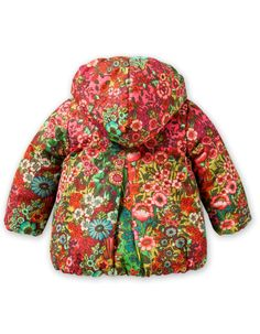 Chilly Coat Sea of Flowers