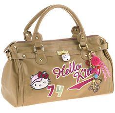 Sac à main Hello Kitty très haut de gamme, collection High Street par Camomilla de Milan. Prix de $86.90 euros.