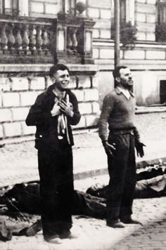 The execution of Polish men on Bloody Sunday. Bydgoszcz, 1939. Unattributed